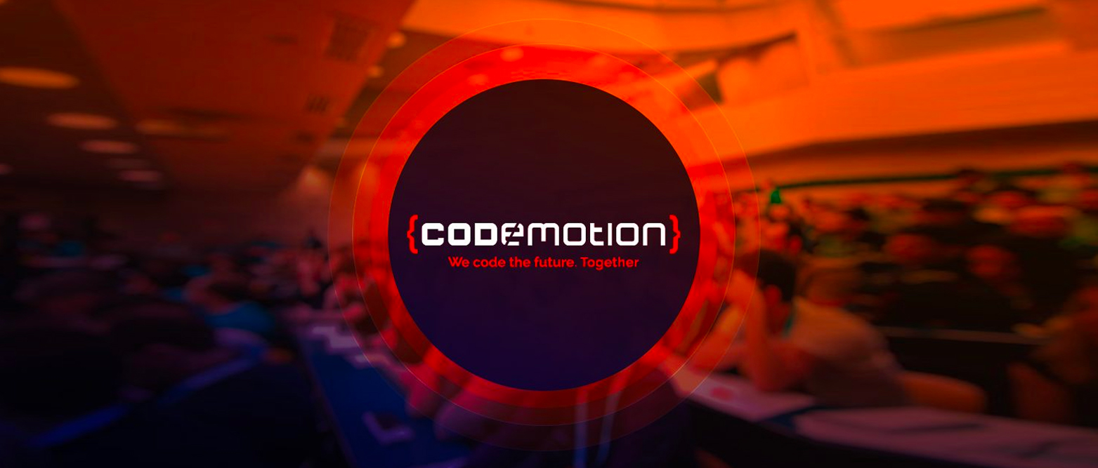Codemotion Milan, here we come!
